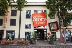Centro da história de Madeira Fotografia de Stock Royalty Free