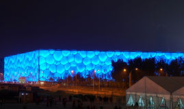 Centro da natação de China Imagens de Stock Royalty Free