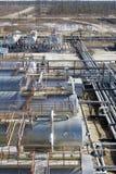 Centro da refinaria imagem de stock