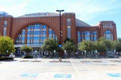 Centro Dallas Texas di American Airlines fotografia stock libera da diritti