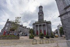 Centro das artes de Aberdeen imagens de stock