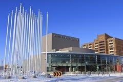 Centro das artes de Remai ou teatro de Persephone, Saskaoon Imagem de Stock