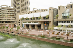 Centro das artes do Barbican, cidade de Londres Foto de Stock Royalty Free