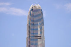 Centro das finanças internacionais de Hong Kong Imagem de Stock