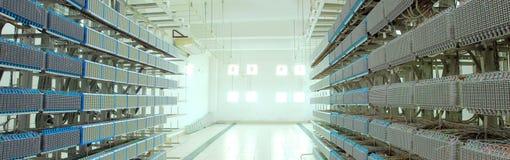 Centro dati Fotografie Stock Libere da Diritti