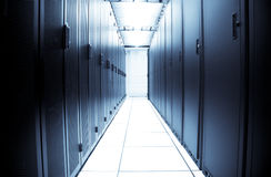 Centro dati del calcolatore Immagine Stock