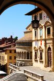 Centro de Arezzo Fotos de Stock