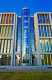 Centro de asunto hermoso en Riga Fotos de archivo libres de regalías