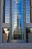 Centro de asunto hermoso en Riga Imágenes de archivo libres de regalías