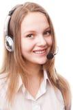 Centro de atención telefónica Foto de archivo libre de regalías