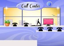 Centro de atención telefónica libre illustration
