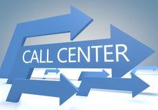 Centro de atención telefónica Imágenes de archivo libres de regalías