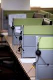 Centro de atención telefónica Foto de archivo