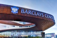Centro de Barclays - Brooklyn, Nueva York imagenes de archivo