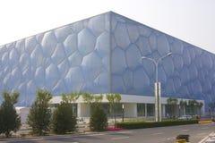 Centro de Beijing Aquatics imagem de stock royalty free