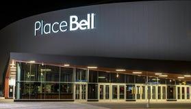 Centro de Bell en Laval Quebec fotografía de archivo libre de regalías