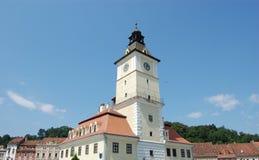 Centro de Brasov Foto de archivo libre de regalías