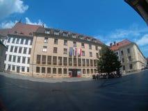 Centro de Bratislava imagens de stock royalty free