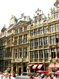 Centro de Bruselas Foto de archivo libre de regalías