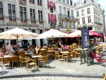 Centro de Bruxelas Imagens de Stock