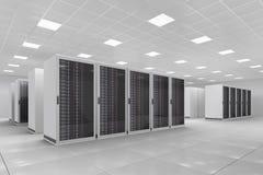 Centro de cálculo Imágenes de archivo libres de regalías