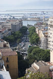 Centro de Cagliari Fotos de archivo