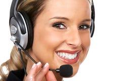Centro de chamadas Fotografia de Stock Royalty Free