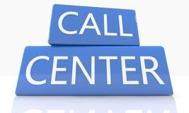 Centro de chamadas Foto de Stock Royalty Free