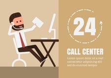 Centro de chamadas Fotos de Stock