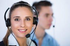 Centro de chamadas Imagem de Stock Royalty Free