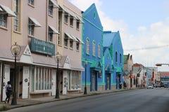 Centro de cidade de Bridgetown Imagens de Stock Royalty Free