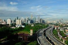 Centro de cidade de Kuala Lumpur Imagem de Stock Royalty Free