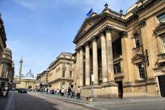 Centro de cidade de Newcastle Foto de Stock