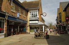 Centro de cidade de Petersfield, Hampshire Imagens de Stock