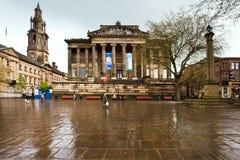 Centro de cidade de Preston Imagens de Stock Royalty Free