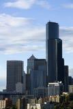 Centro de cidade de Seattle imagem de stock royalty free