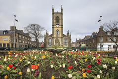 Centro de cidade de Thurso, Escócia Fotografia de Stock