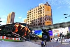 Centro de cidade do quilolitro Fotografia de Stock