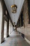 Centro de cidade histórico Imagem de Stock Royalty Free