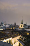 Centro de cidade histórico Madrid dos telhados Spain Imagens de Stock Royalty Free