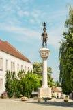 Centro de cidade de Tokaj foto de stock