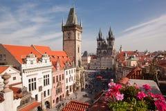 Centro de cidade velho de Praga Fotos de Stock