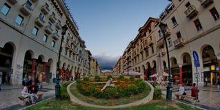Centro de cidades Imagem de Stock Royalty Free