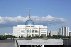 Centro de ciudad de Ak Orda Astaná Kazajistán Imágenes de archivo libres de regalías