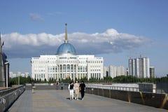 Centro de ciudad de Ak Orda Astaná Kazajistán Imagenes de archivo