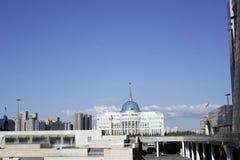 Centro de ciudad de Ak Orda Astaná Kazajistán Foto de archivo libre de regalías