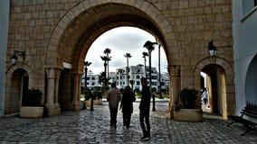 Centro de ciudad antic del monastir de Sousse Túnez el Sahel fotos de archivo