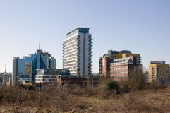 Centro de ciudad de Basingstoke Imagen de archivo libre de regalías
