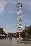Centro de ciudad de Bayreuth Fotografía de archivo libre de regalías