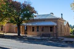 Centro de ciudad de Beechworth foto de archivo libre de regalías